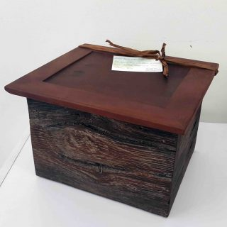 Keith Buck recycled timber box