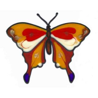 Leadlight Sticker 'Butterfly''