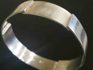 Lap Bangle handmade REM Jewellery Fremantle Western Australia