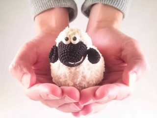Crochet pattern of sheep