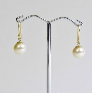 Akoya Pearl Earrings 9ct gold