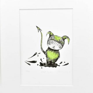 Art Print 'Mud Guts'