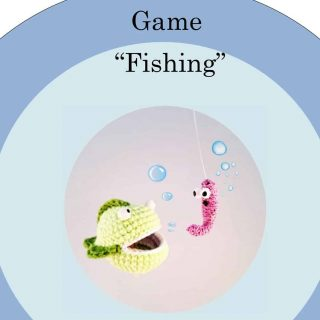 "Crochet pattern of Game ""Fishing"""