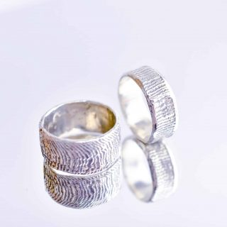Silver Cuttlefish Ring