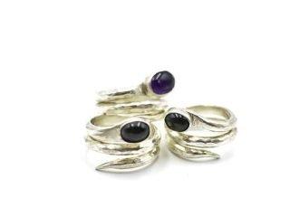 Snake Sterling Silver Ring