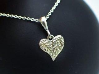 Leaf Love Heart Pendant