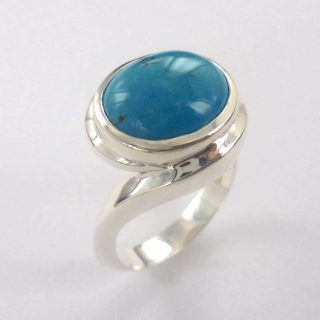 Turquoise Embrace Ring