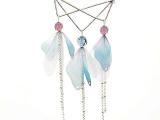 Organza Butterfly Wing Necklace