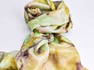'Roses' Silk Scarf by Dionisia Buck