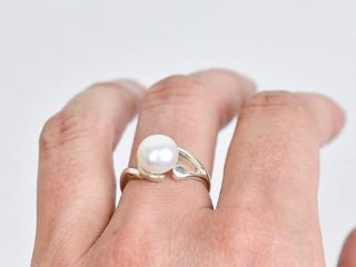 Freshwater Pearl Silver Ring