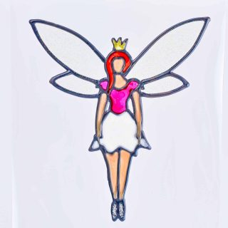 Leadlight Sticker 'Fairy'