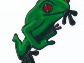 Leadlight Sticker 'Frog'