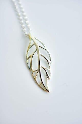 Open Leaf pendant