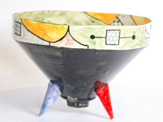 Miro Conical Serving Bowl