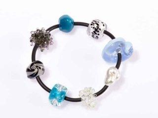 Bracelet 'Blue and Upfront'