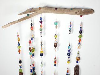 Driftwood Crystal Mobile #13