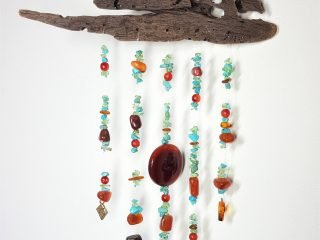 Driftwood Crystal Mobile #18