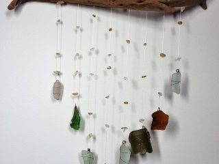 Driftwood Crystal Mobile #33