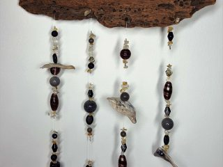 Driftwood Crystal Mobile #42