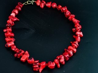 Red Coral Necklet