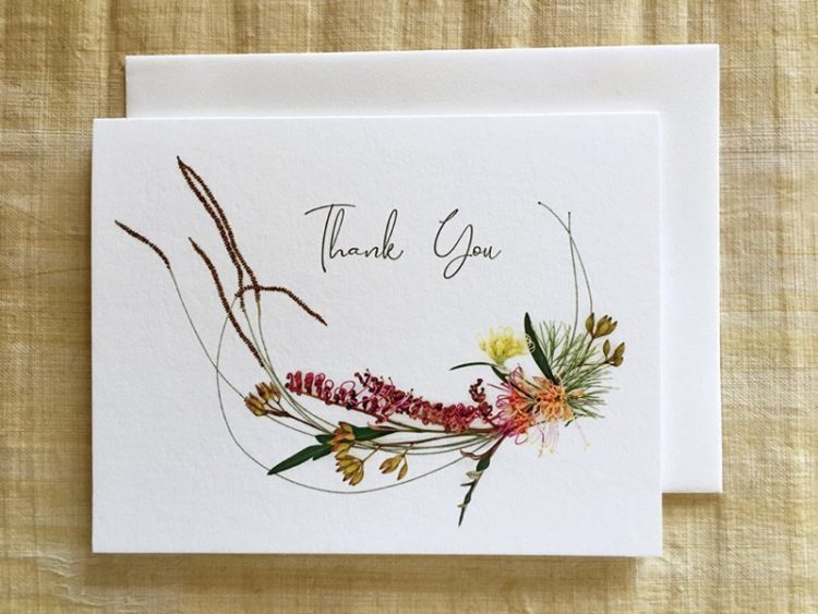 """Set of """"Thank You"""" note cards"""