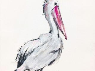 Original painting 'Pelican'