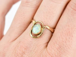 Solid Opal Ring