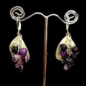 Agate Beads Earrings