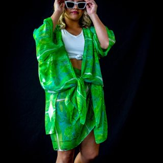 Tropical Open Kaftan
