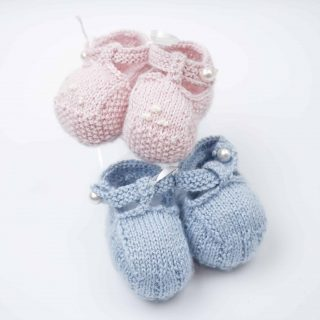 Handknitted Baby Shoes