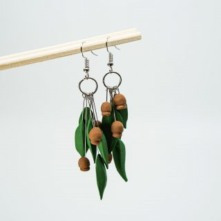 Gumtree Polymer Clay Earrings