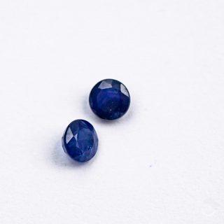 Dark Blue Sapphire 4mm round