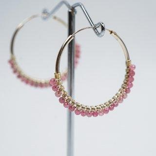 Tourmaline Hoop Earrings (2)